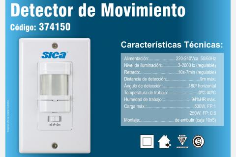 SENSOR SICA 5X10 EMBUTIR